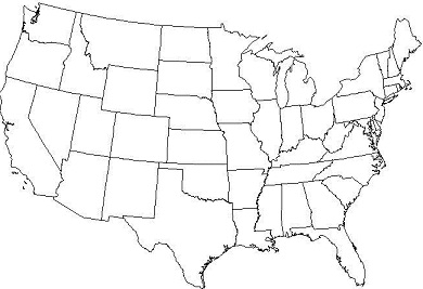 US States Locations Capitals AnkiWeb - Blank map of us states and capitals